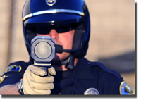 police radar operation